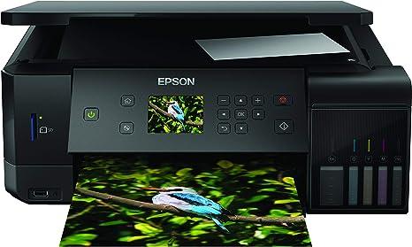Epson EcoTank ET-7700 - Impresora, color negro: Epson: Amazon.es ...