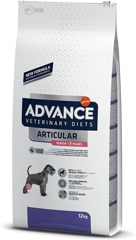 ADVANCE Veterinary Diets Articular Care Senior - Pienso para Perros Senior con Problemas Articulares - 12Kg