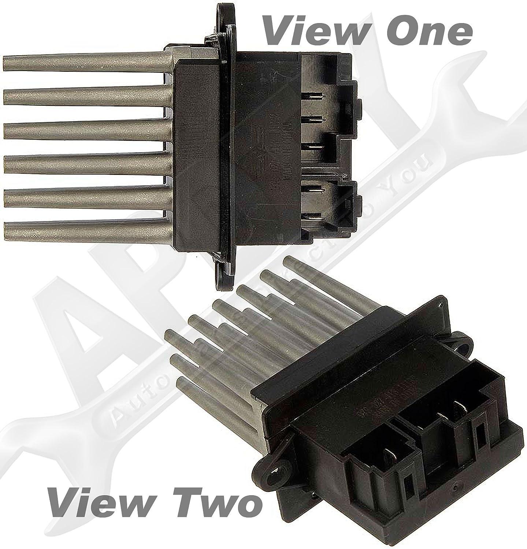 Amazon.com: APDTY 084138 Blower Motor Fan Speed Control Resistor ...