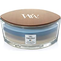 WoodWick Trilogy vela perfumada en forma de elipse