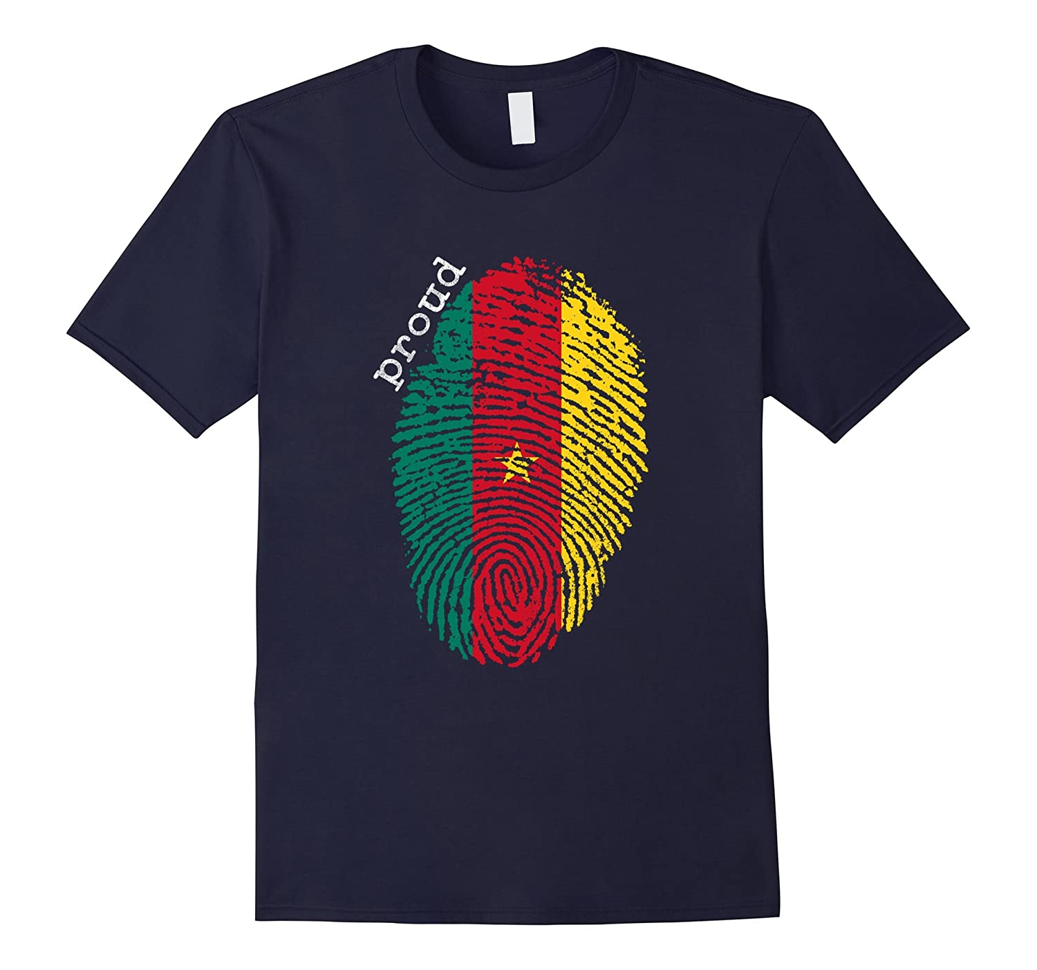 Cameroon shirt - Cameroon National Flag-CL