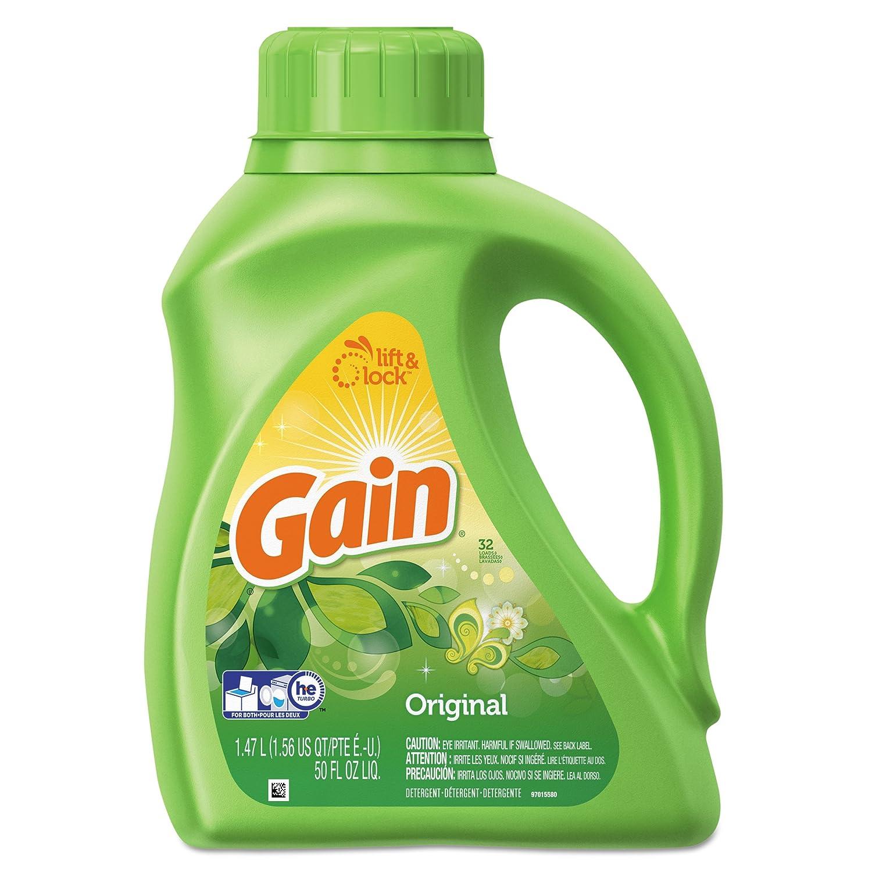 Ultra Gain 12784 50 Oz. 2X Original Liquid Fresh Laundry Detergent (Case of 6)