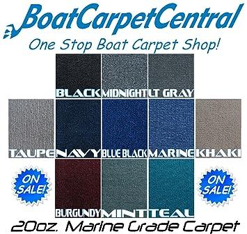 Amazon Com Marine Outdoor Pontoon Boat Carpet 20oz 10colors Black