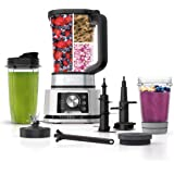 Ninja Foodi SS351 Power Blender & Processor System with Smoothie Bowl Maker and Nutrient Extractor*. 4in1 Blender + Food Proc