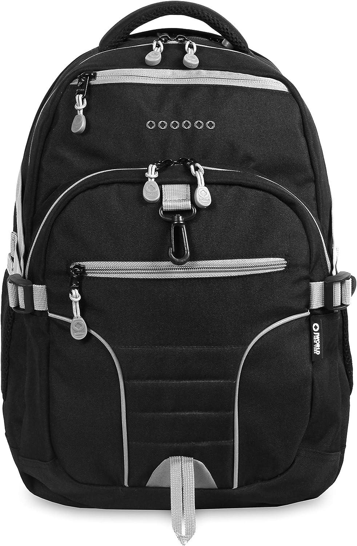 J World New York Atom Multi-Compartment Laptop Backpack