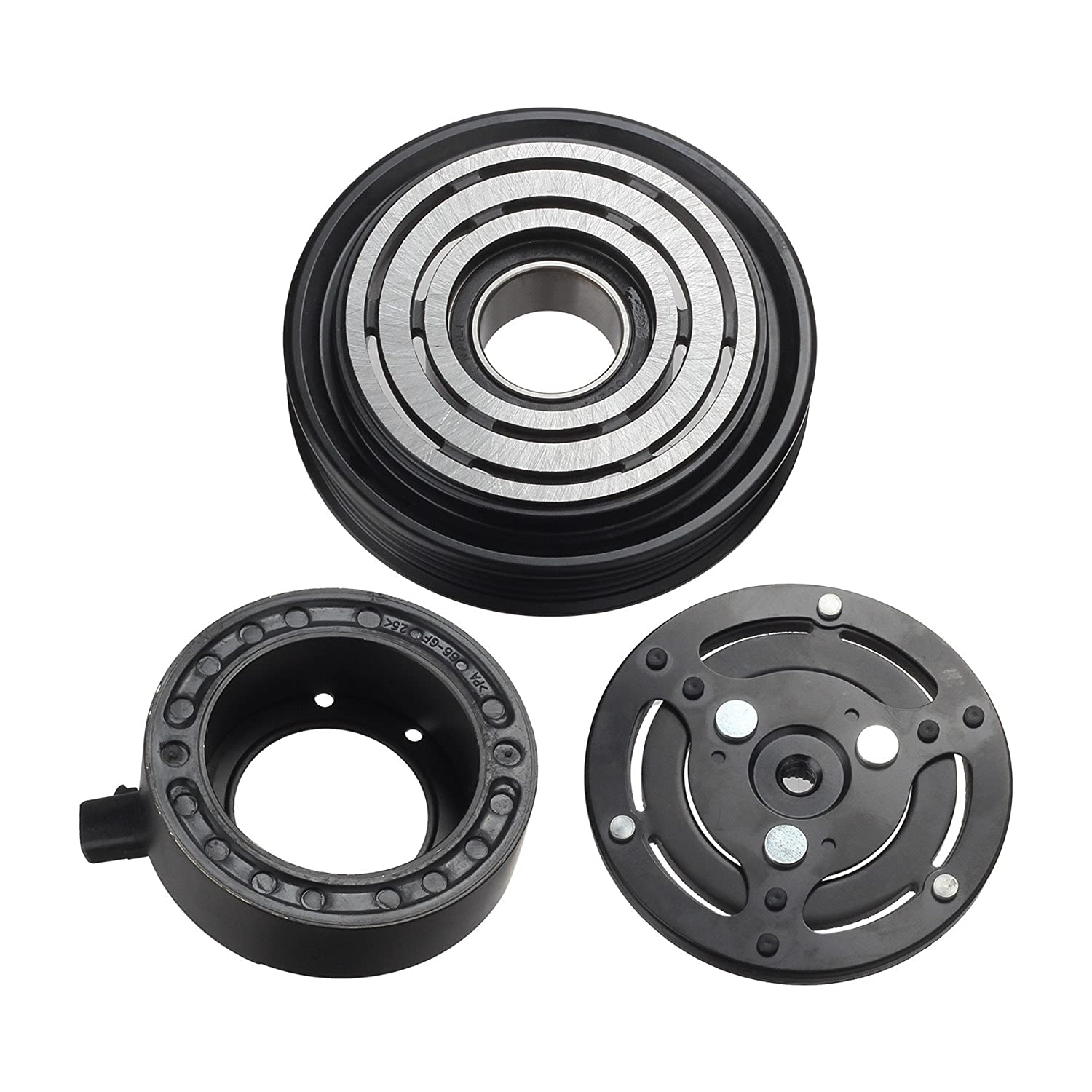 Ac A C Compressor Clutch Assembly Kit For 2005 2009 Subaru Wiring Diagram Legacy Outback Automotive