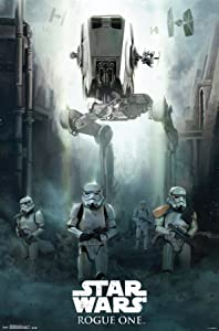"Trends International Siege Star Wars Rogue One Siege Wall Poster 22.375"" x 34"""