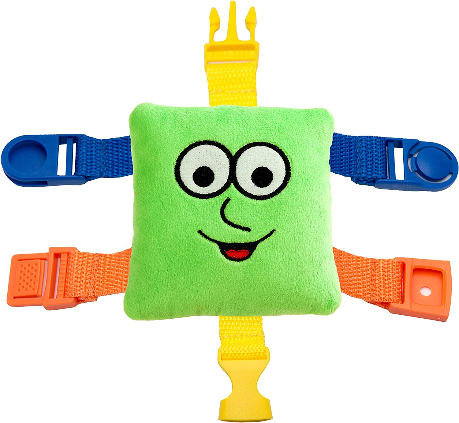 BUCKLE TOY Toddler Early Learning Basic Life Skills Child Kids Plush Toys Funny