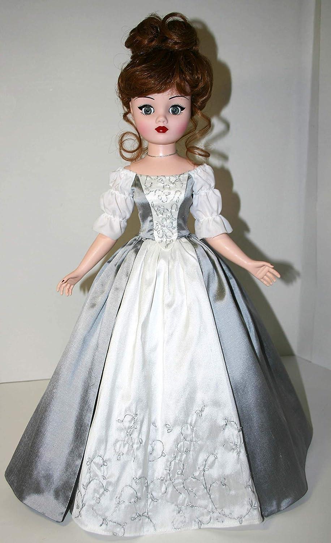"Outlander Wedding Dress Sewing Pattern for 21/"" Cissy Madame Alexander"
