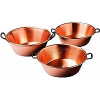 Baumalu cuivre Pot Confiture, diamètre 38cm, 9L, Lisse cuivre, spécialement conçu pour gaz