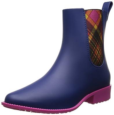 Vivienne Westwood Anglomania Women's Riding Rain Shoe,Blue,8 ...