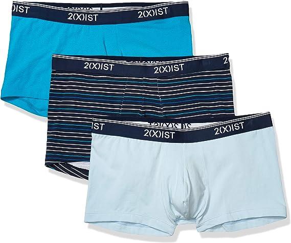 IST Mens Cotton Contour Pouch Brief Multipack Underwear X 2 Scotts red//Skydiver//Black