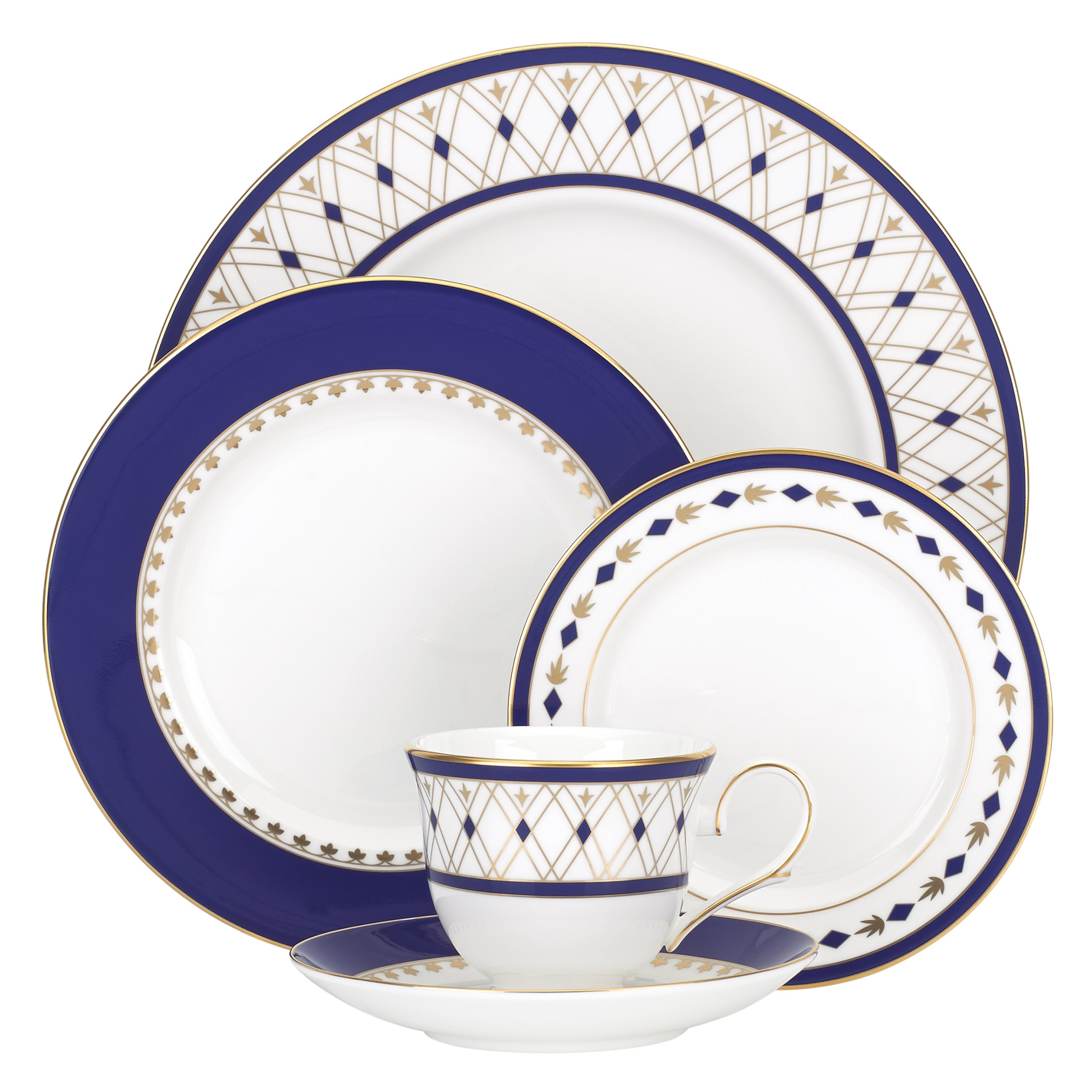 Lenox Royal Grandeur 5 Piece Place Setting, White