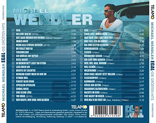 Wendler Michael Egal Die Grossten Hits Amazon Com Music