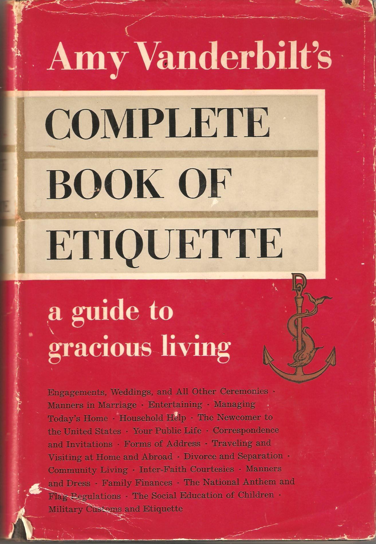 Amazon.com: Amy Vanderbilt\'s Complete Book of Etiquette: A Guide to ...