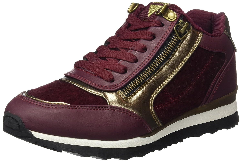 MTNG Anne, Zapatillas para Mujer 39 EU|Rojo (Monte Burdeos/Horse Burdeos)