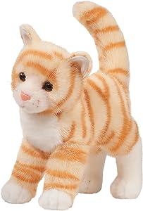 Douglas Tiffy Orange Tabby Cat Plush Stuffed Animal
