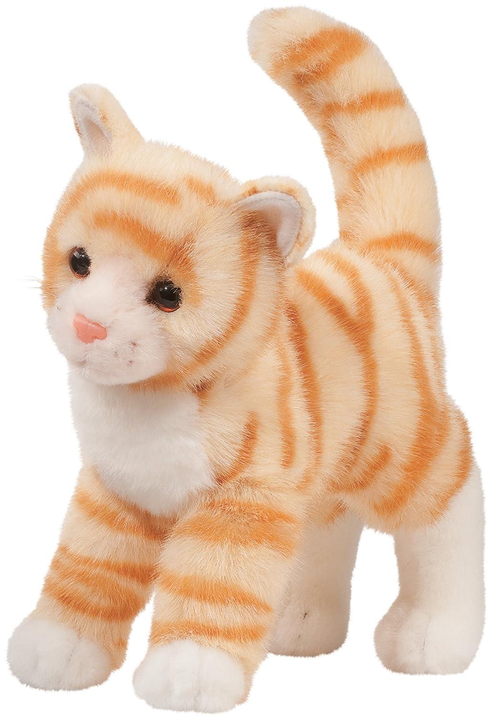 Amazon Com Cuddle Toys 1865 30 Cm Long Tiffy Orange Tabby Cat Plush