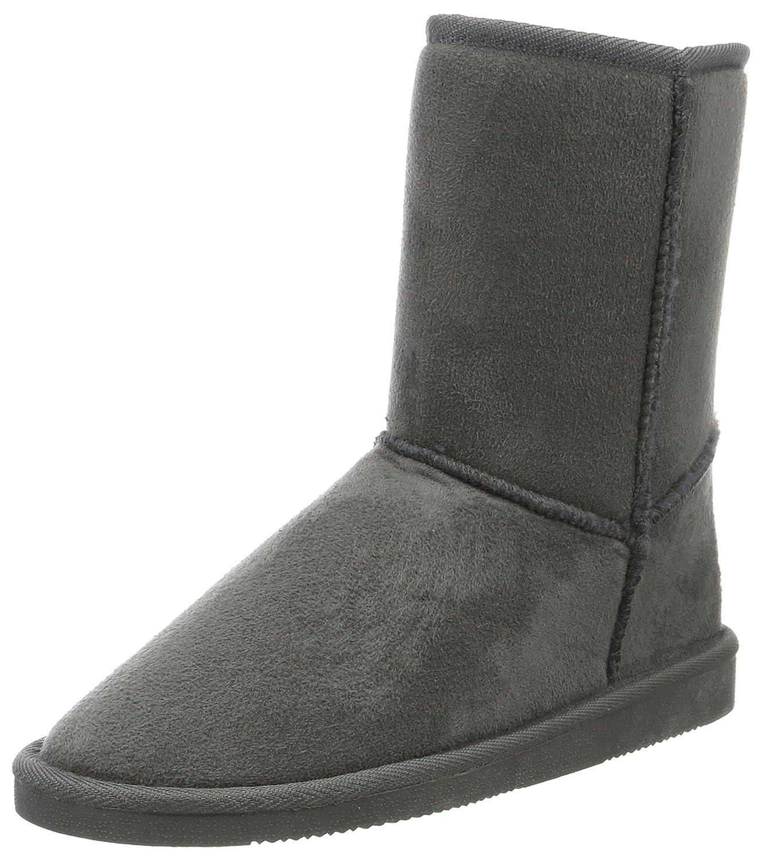 Canadians Boots, Bottes mi-Hauteur avec Doublure avec Chaude Chaude Femme Gris B07GS6VQSP - Grau (250 Dk. Grey) f0c8fce - piero.space