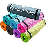 Esterilla para fitness »Yogini« / gruesa y suave, perfecta para pilates, gimnasia