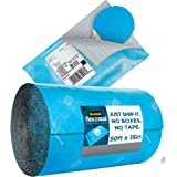 Scotch Flex and Seal Shipping Roll 50 ft x 15 in, Eliminates Time, Supplies, Waste & Space vs. Boxes, Easy Packaging Alternat