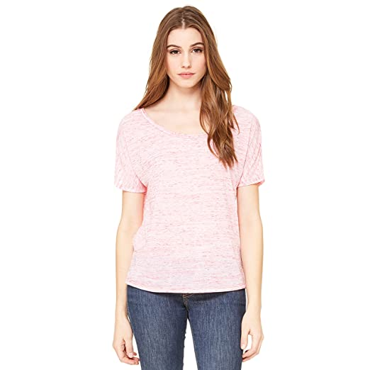8fdad1fc Image Unavailable. Image not available for. Color: Bella + Canvas Ladies' Slouchy  T-Shirt ...
