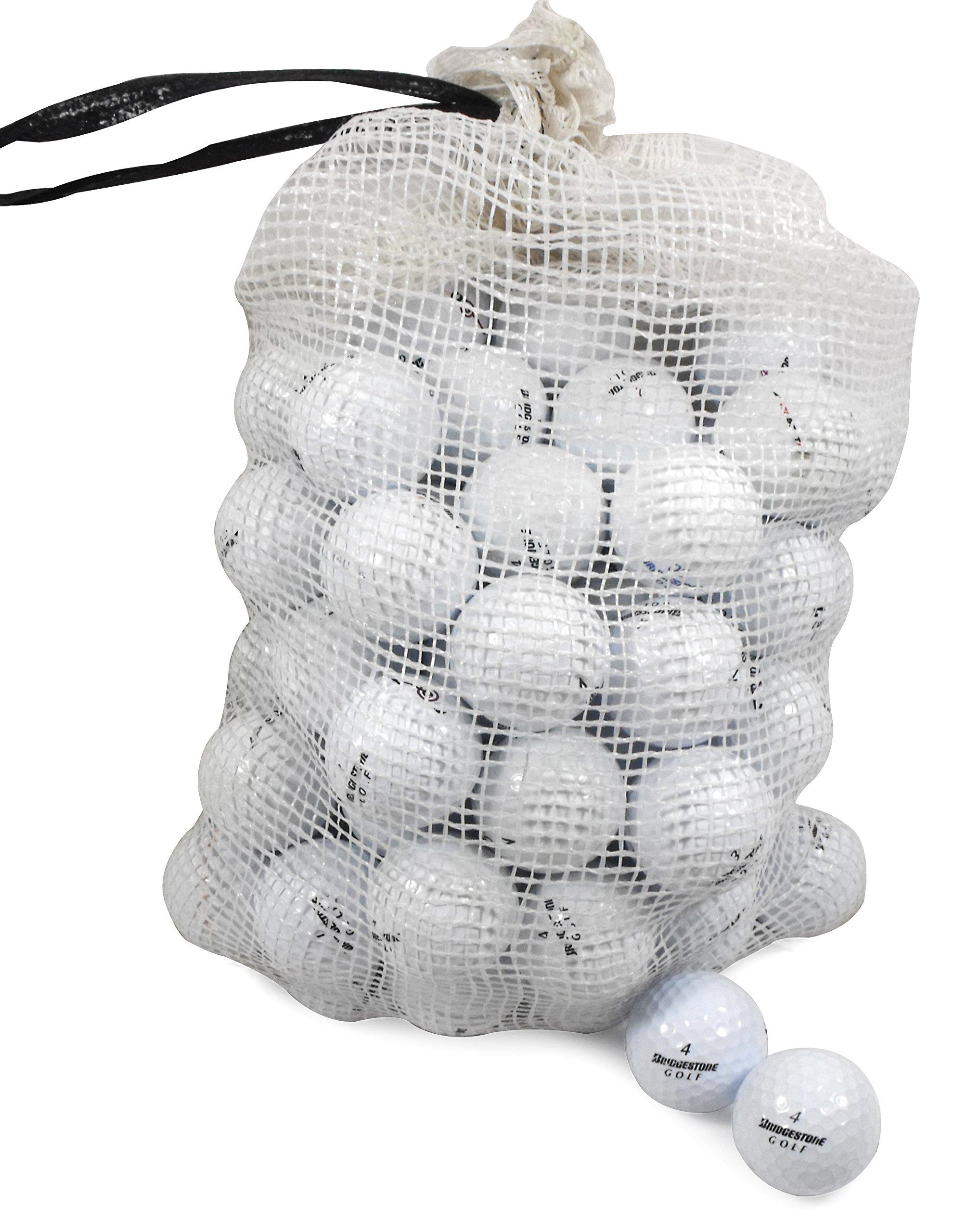 Bridgestone Recycled B/C Grade Golf Balls In Onion Mesh Bag (72 Piece), Assorted by Bridgestone
