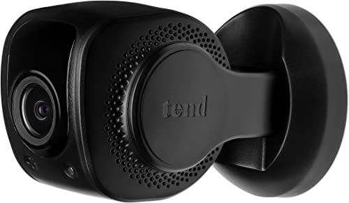 Tend Insights Lynx Indoor 2 – Indoor WiFi Security Camera with Easy Bluetooth Setup, Two Way Audio, Night Vision, and Included Cloud Storage, Black Amazon Exclusive TS0024