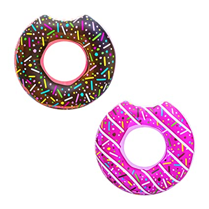 Amazon.com: Bestway - Tumbona hinchable con diseño de donut ...
