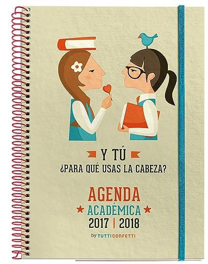M. Rius Frases - Agenda escolar 2017/2018 con goma, semana ...