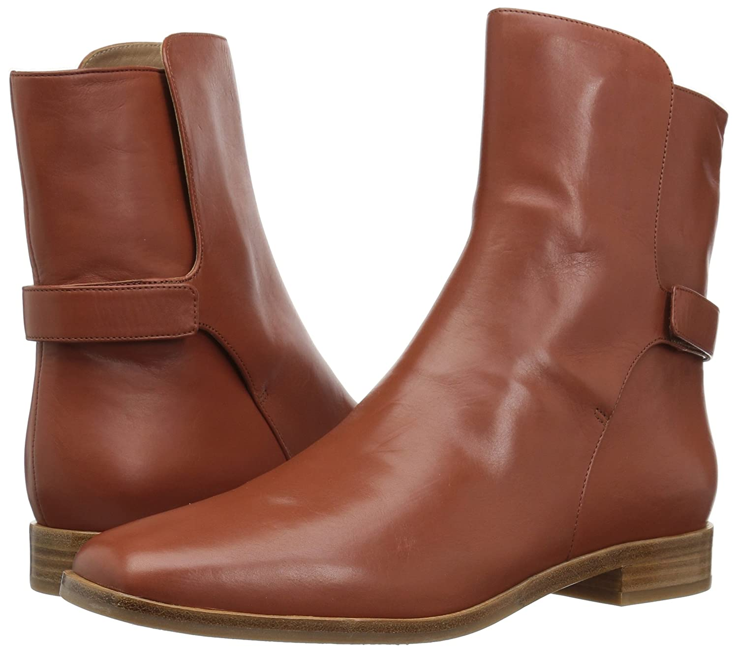 Via Spiga Women's B(M) Vaughan Ankle Boot B06XGTN8HF 4.5 B(M) Women's US|Chestnut Leather 0355d3