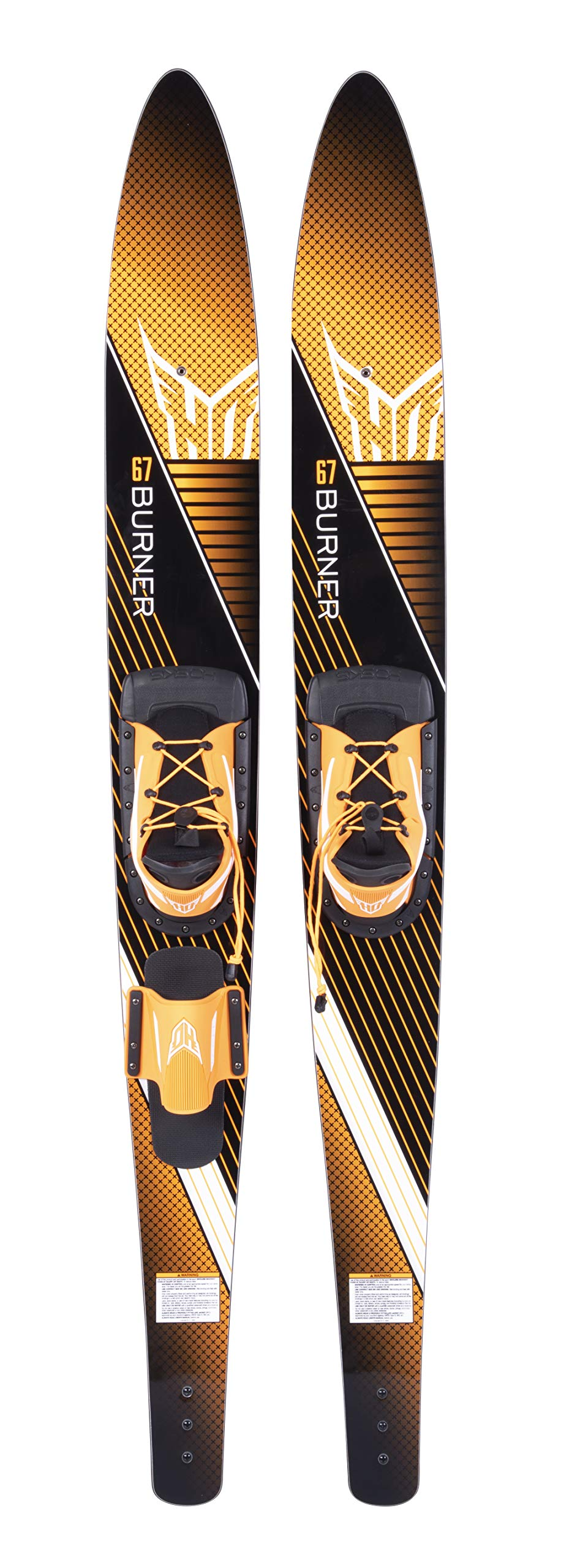 HO Sports 61 inch Burner Combo Sml Blaze/RTS Water Skis