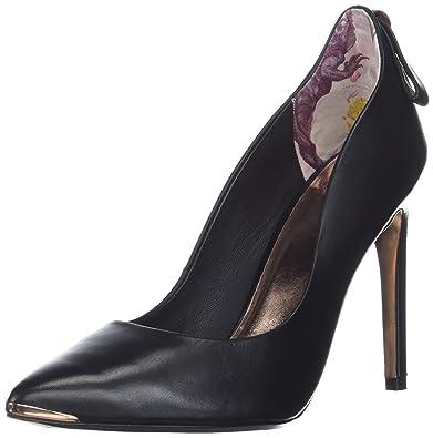 2542646802c Ted Baker Women s LIVLIA Pump Black Leather 6 Medium US
