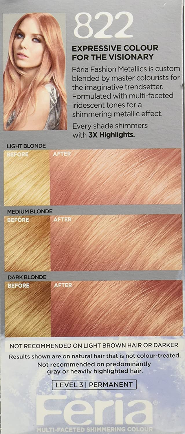 The look at home using l oreal paris feria smokey pastels in p2 smokey - Buy Rose Gold L Oreal Paris Hair Color Feria Multi Faceted Shimmering Color Rose Gold Online At Low Prices In India Amazon In