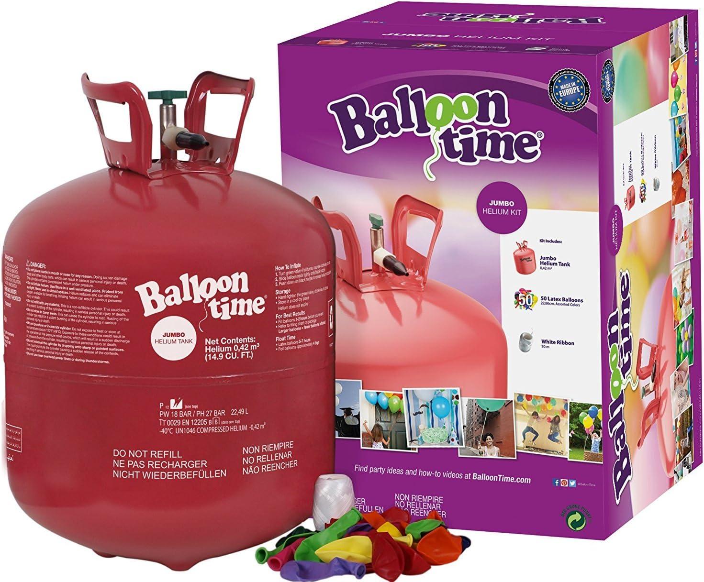 Bombona de helio + 50 Globos
