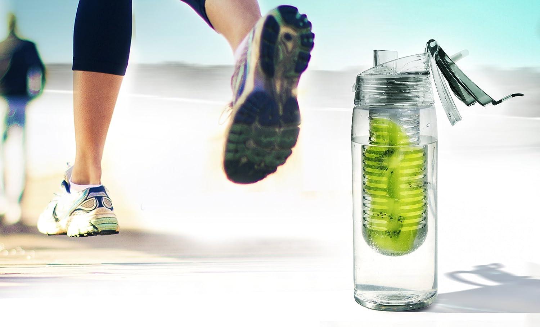 Asobu Revolutionary Pure Fruit Flavour 2 Go Water Infuser Bottle Ad-n-art BTA712-8665