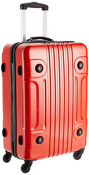 ac1cacaf402 Tommy Hilfiger Austin Exclusive ABS 56 cms Red Hard sided Carry-On (TH/