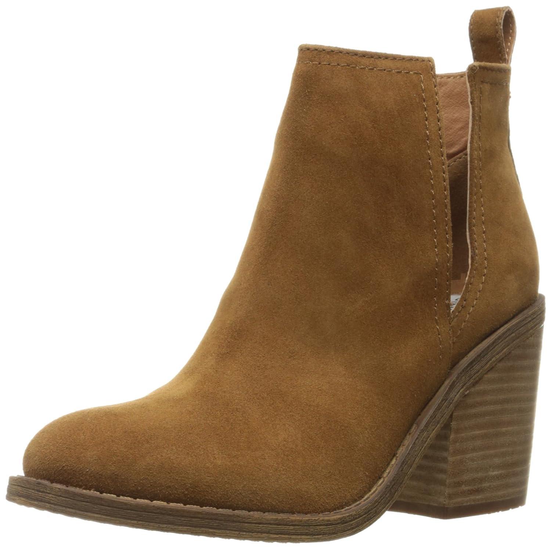 Steve Madden Women's Sharini Boot B014XM7L48 7 B(M) US|Chestnut Suede