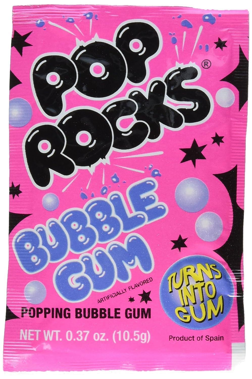 Amazon.com : Pop Rocks Bubble Gum 24 count : Suckers And Lollipops ...