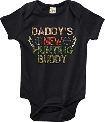 Daddy/'s Little Buddy Personalised Babygrow