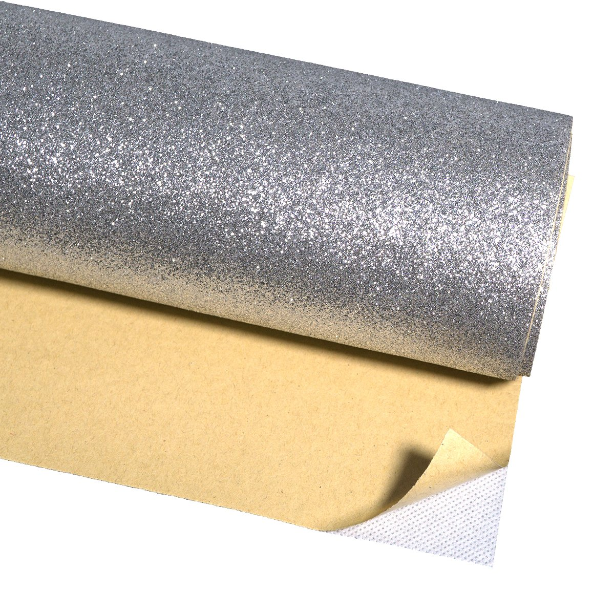 Self Adhesive Glitter Wallpaper for Walls Peel and Stick Roll Decor ...