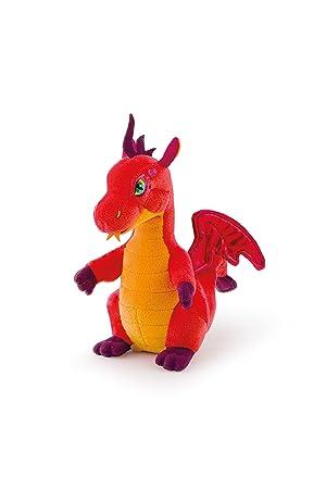Trudi - Peluche electrónico Mini dragón, Color Naranja (52431)