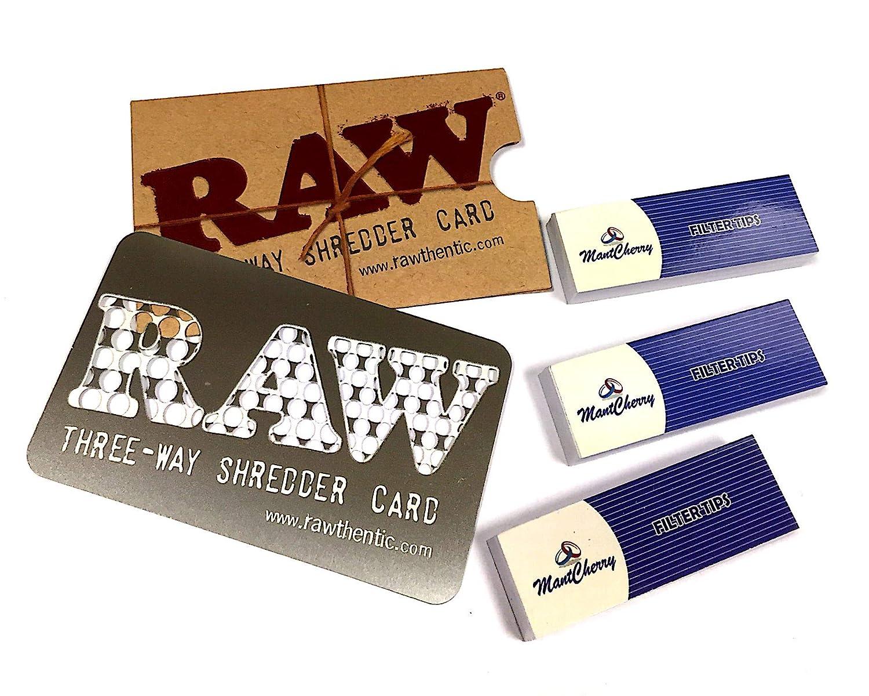 RAW 3 way Shredder Grinder card UK Seller metal