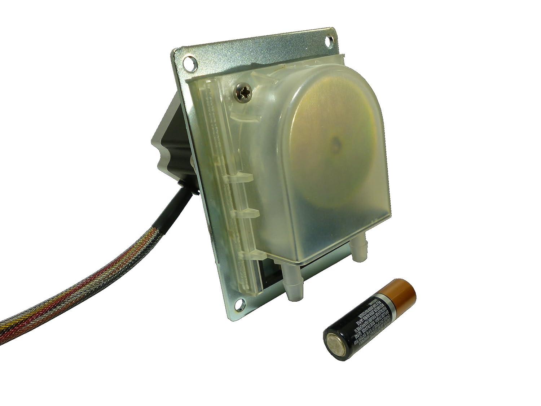 Simply Pumps PMSTx310V Peristaltic Stepper Motor Self Priming Panel Mount Dosing Dispensing Metering Pump with Viton Tubing 500 mL//Min 24V DC