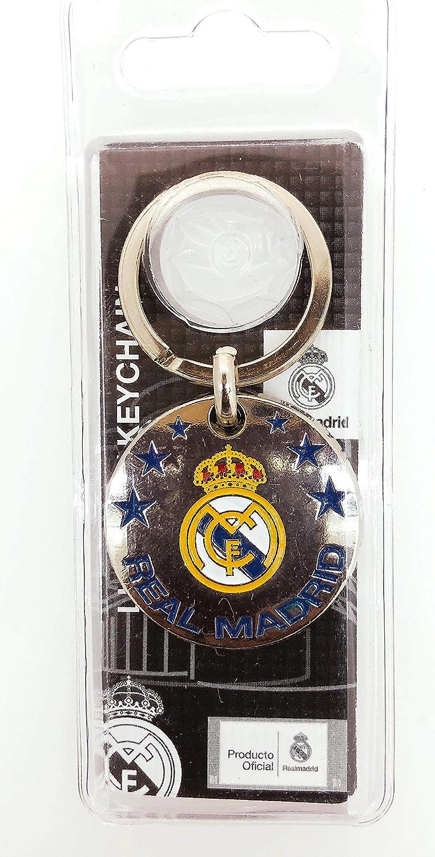 Llavero Real Madrid Round Produto Oficial: Amazon.es: Hogar