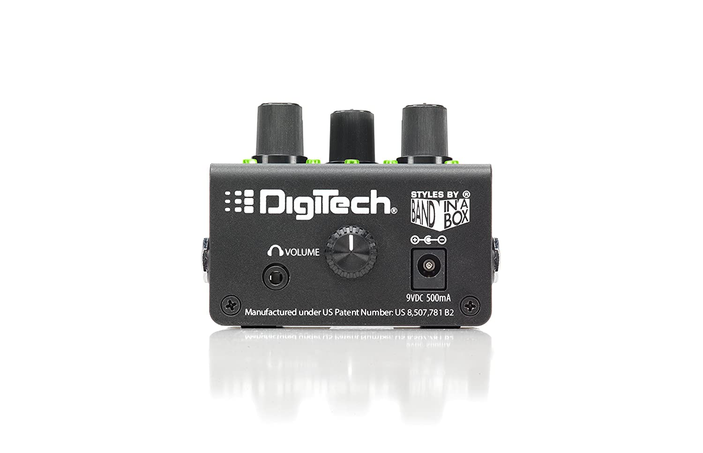 Digitech Trio Electric Guitar Multi Effect Band Creator Jam Tangan Digitec Original 3702n Pedal Power Supply Included Musical Instruments