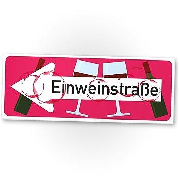 einwein Calle – Vino plástico Cartel, divertido regalo para usted ...