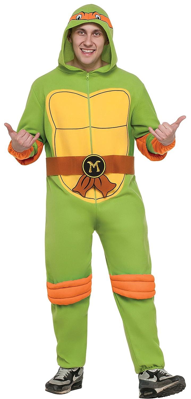 Teenage Mutant Ninja Turtles Michelangelo Hooded Jumpsuit