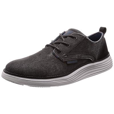 Skechers Men's Status 2.0-Pexton Canvas Oxford   Fashion Sneakers