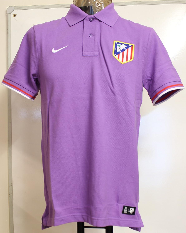 Nike Atletico Madrid Polo (púrpura) - Talla XL: Amazon.es ...
